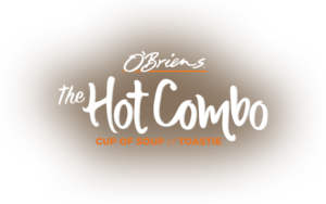 O'Briens - The Hot Combo Lockup
